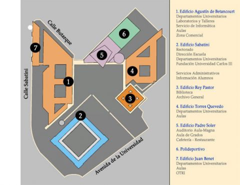 MASI Master In Aircraft Systems Integration - Leganés map